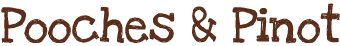 Pooches & Pinot Logo