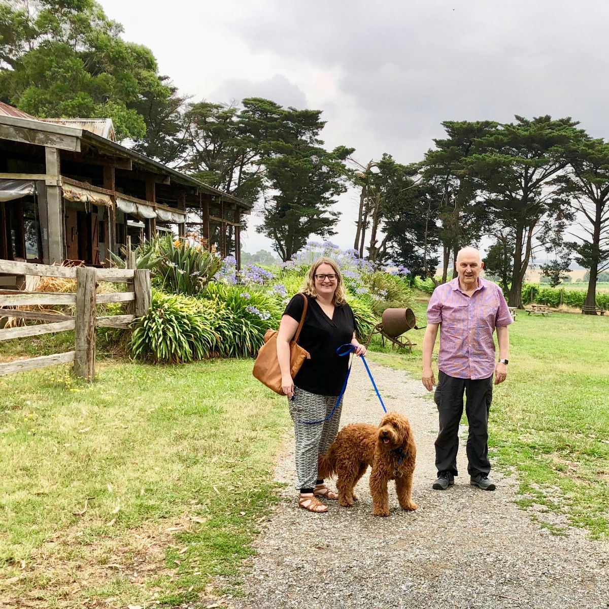 Yering Farm on a Popoches and Pinot wine tours