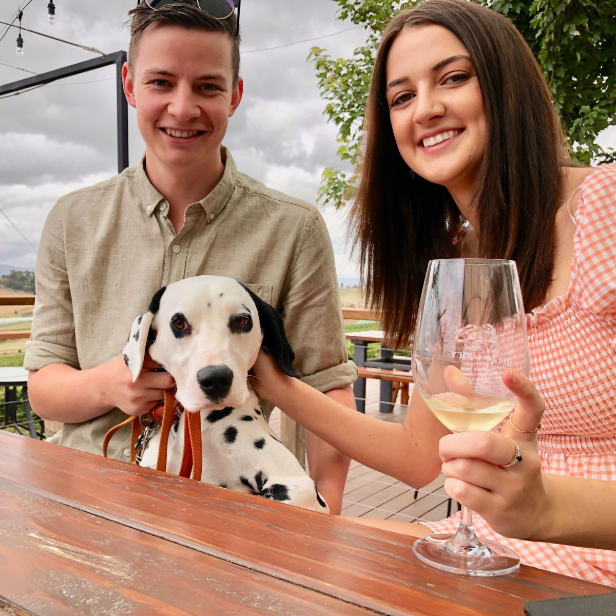 Pooches and Pinot dog wine tour